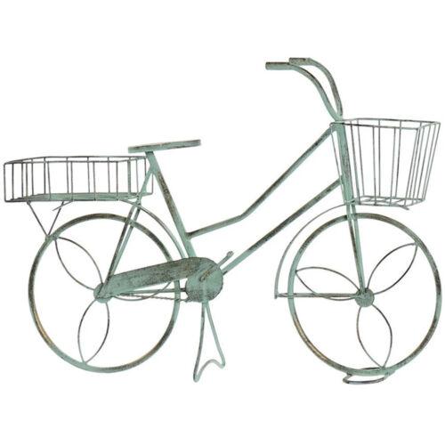 Kölcsönözz romantikus hangulatot, szobádnak vagy udvarodnak ezzel a szuper kis kerékpáros virágállvánnyal.