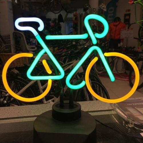 Kerékpáros neon asztali lámpa