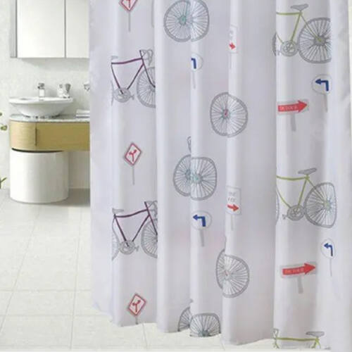 Kerékpáros zuhanyfüggöny