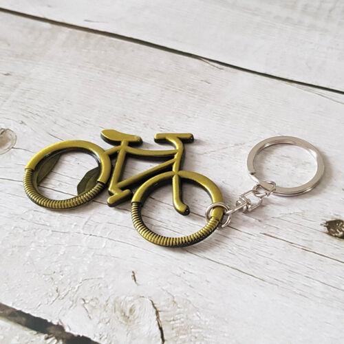 Kerékpáros Sörnyitó kulcstartó