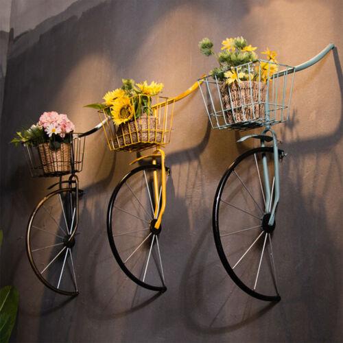 Fali virágtartó kerékpár - 3 színben
