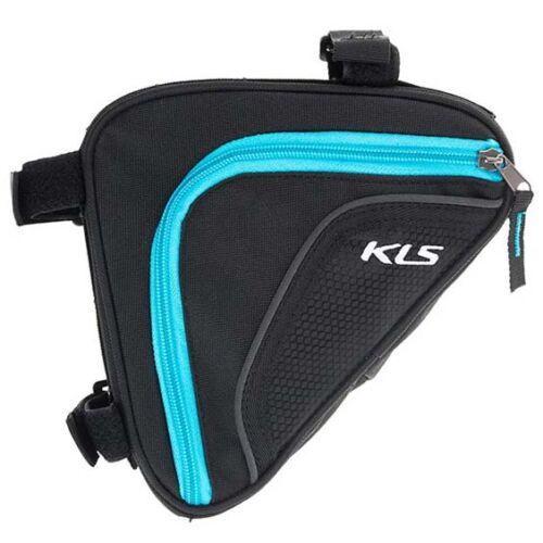 KLS wedge váztáska kék